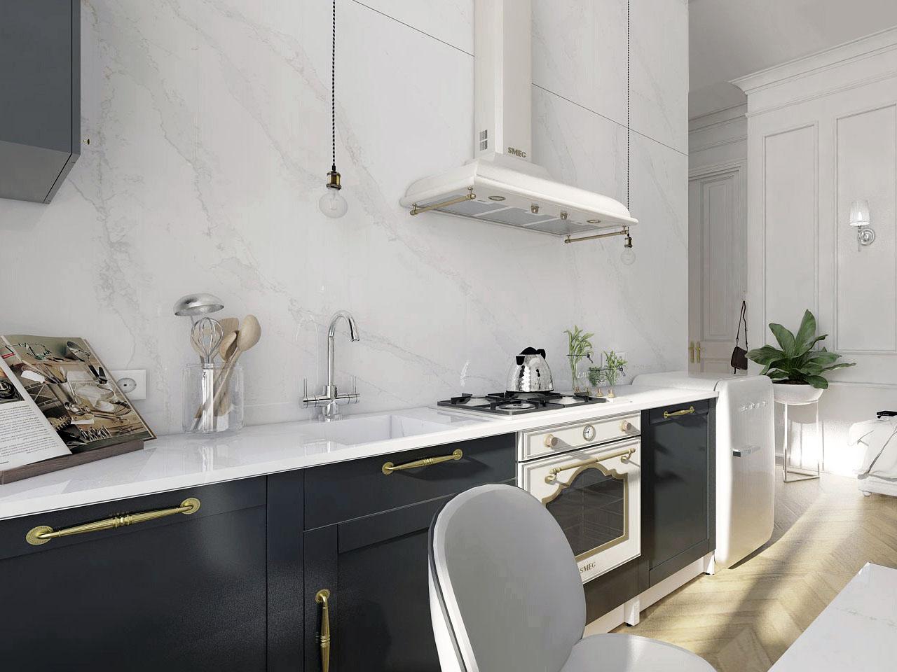 Kitchen design Krakow - design, interior design, Rzeszów, Katowice ...