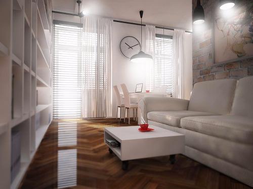 Studio flat in Cracow